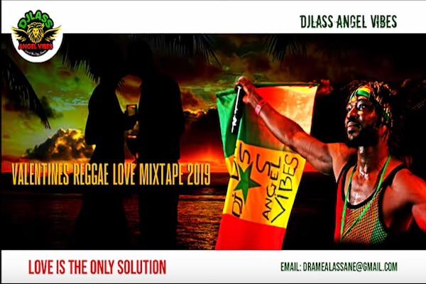 "Download DJLass Angel Vibes ""Valentines Reggae Love Mixtape"