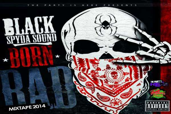 download Black Spida Sound Born Bad Dancehall Mixtape Feb 2014