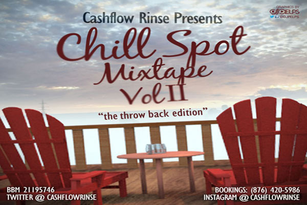 DJ RINSE(CASHFLOW RINSE) – CHILL SPOT MIXTAPE (THROW BACK EDITION)