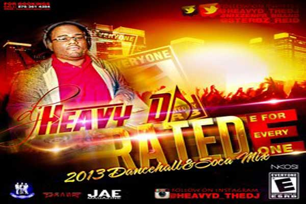 <strong>Download Dj Heavy D &#8211; Rated E &#8211; Dancehall &#038; Soca Mixtape &#8211; January 2013</strong>