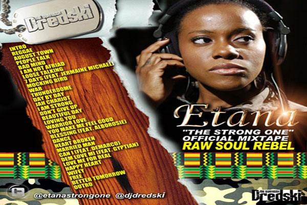 <strong>Download Etana Raw Soul Rebel &#8211; Official Mixtape -DJ Dredski</strong>