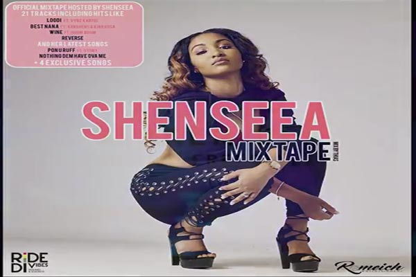 download Shenseea official dancehall reggae mixtape- july 2017
