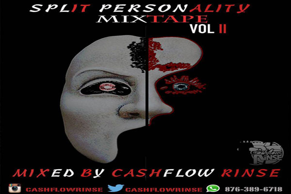 download cashflow rinse split personality dancehall hip hop mixtape sept 2015