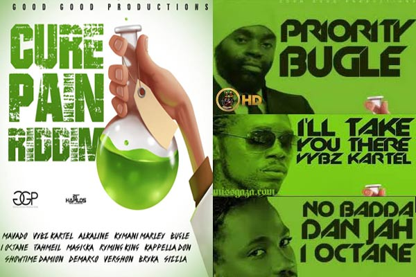 DOWNLOAD CURE PAIN RIDDIM MIXTAPE – GOOD GOOD PRODUCTIONS