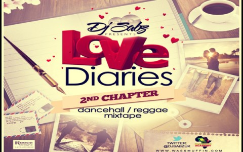 download djSABZ uk LOVE DIARIES 2ND CHAPTER dancehall mixtape 2013