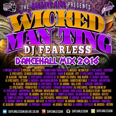 DOWNLOAD DJ FEARLESS WICKED MAN TING DANCEHALL MIXTAPE