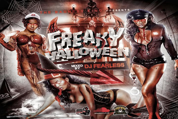 download dj fearless freaky halloween explicit dancehall mixtape october 2016