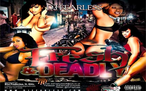 download dj fearless fresh & deadly dancehall mixtape feb 2013