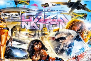 DOWNLOAD DJ FEARLESS – VYBZ KARTEL GAZA NATION – DANCEHALL MIXTAPE