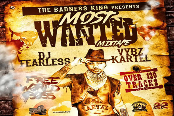 Dj Fearless Vybz Kartel Most Wanted Mixtape 2017 Coloring Book Free