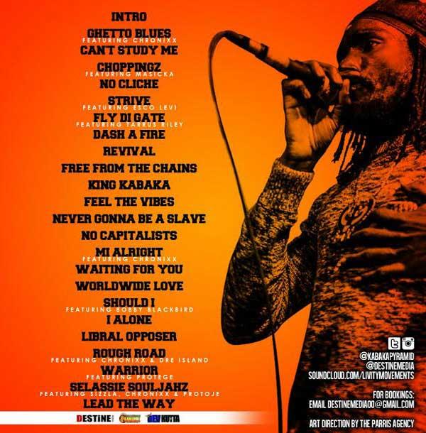 download kabaka pyramid the lyricist reggae mixtape track listing