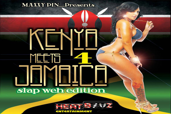 Download Maxxy Pin – Kenya Meets Jamaica Mixtape – Vol 4 – Nov 2012