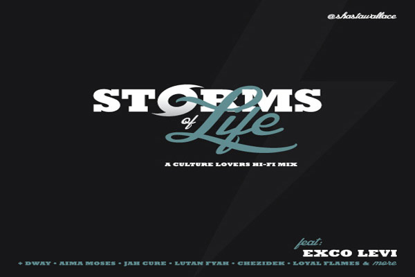 Download DJ I-Shasta Storms Of Life – Lovers & Culture Mixtape – Nov 2012