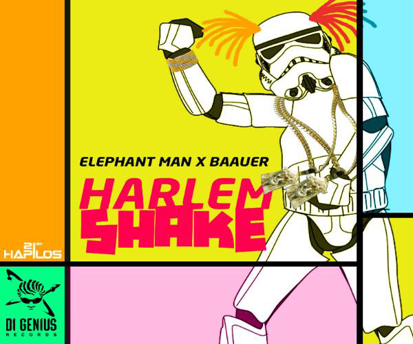 ELEPHANT MAN & BAAUER BEST HARLEM SHAKE OFFICIAL MUSIC VIDEO