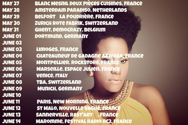 REGGAE ARTIST ETANA THE STRONG ONE EUROPEAN TOUR DATES – MAY 2014