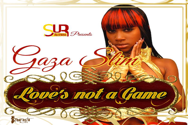 GAZA SLIM NEW SINGLE LOVE'S NOT A GAME- SOUNIQUE REC- MAY 2013