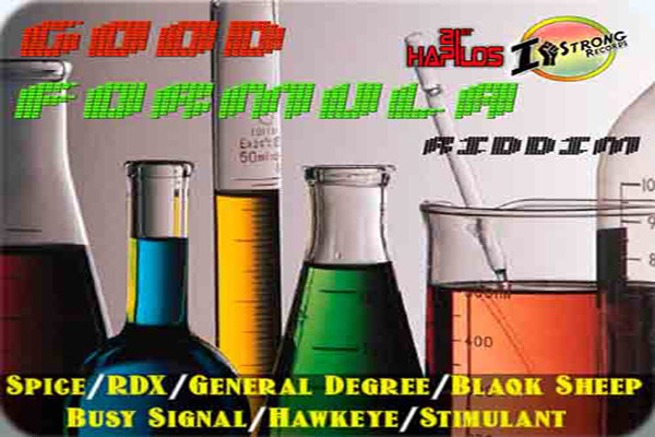 Good Formula Riddim – I-Strong Records – Nov 2012