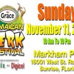 grace Jamaican Jerk Festival South FLorida 11 nov 2012