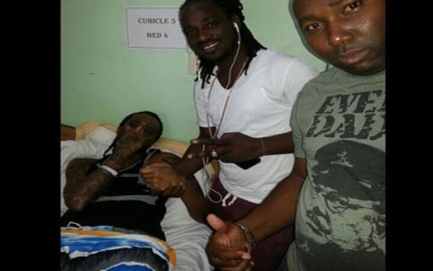 i-octane visiting tommy lee in hospital
