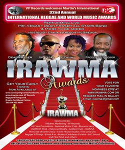 irawma awards 2013