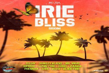 <strong>Listen To 'Irie Bliss Riddim' Mix Lutan Fyah, Charley Blacks, Mr Vegas, Kiprich, Chino, Zamunda Big Zim Records 2021</strong>