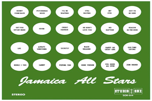 jamaica all stars studio one 2020 re issue