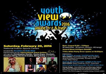 Vybz Kartel, Ishawna, ZJ Chrome Jamaica Youth View Awards (YVA) 2016 Winners