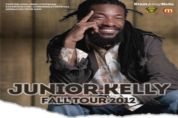 Reggae Artist Junior Kelly European Tour Dates Oct-Nov 2012