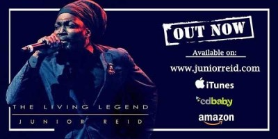 Junior Reid: The Living Legend Album Out Now!