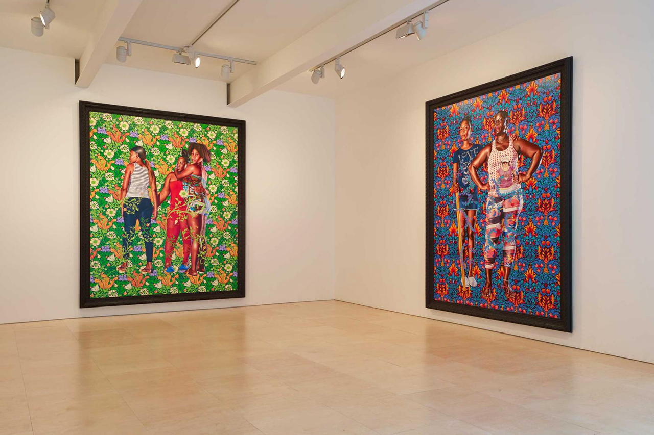 "KEHINDE WILEY ""THE WORLD STAGE: JAMAICA"" EXHIBITION PHOTOS & VIDEO"