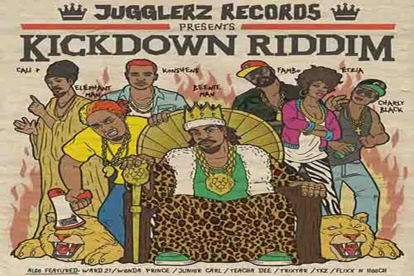 Jugglers Records Presents – Kickdown Riddim – Oct 2012
