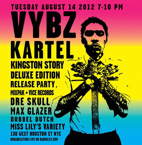 Vybz Kartel Kingston's Story Deluxe Edition Streaming- Dre Skull Mixpak Records