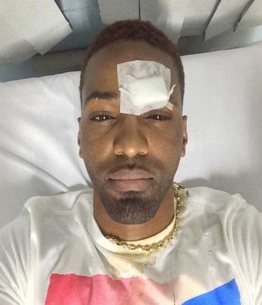 KONSHENS HIT ON HIS HEAD WITH A BOTTLE – OCTOBER 2014