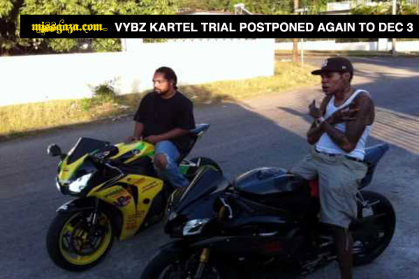 Vybz Kartel's New Trial Postponed Again To December 3