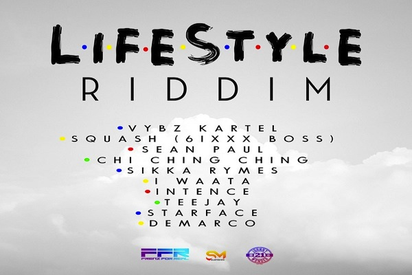 Lifestyle Riddim Mix Vybz Kartel,Squash,Teejay,Sean Paul,Demarco