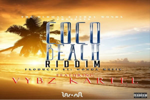 <strong>Listen To Vybz Kartel So Horny/ Brace Back &#8211; Coco Beach Riddim &#8211; Wonda Music </strong>