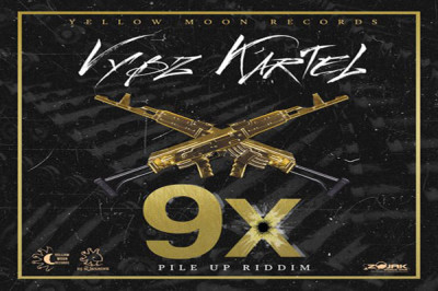 <strong>LISTEN TO VYBZ KARTEL NEW SONG 9X -YELLOW MOON RECORDS</strong>