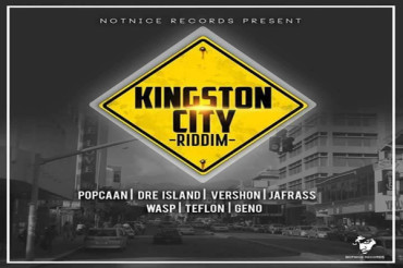 <strong>Listen To Kingston City Riddim Mix &#8211; Popcaan,Vershon,Teflon &#8211; Notnice Records &#8211; January 2017</strong>