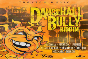 <strong>LISTEN TO DANCEHALL BULLY RIDDIM FEAT MAVADO, DEMARCO, BUSY SIGNAL, I-OCTANE &#038; MORE</strong>
