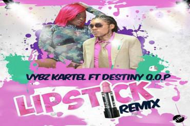 <strong>Listen To Vybz Kartel Feat Destiny Q.O.P. &#8211; Lipstick &#8211; Remix</strong>