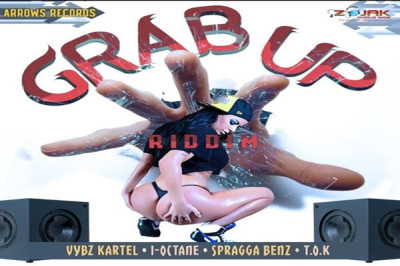<strong>LISTEN TO GRAB UP RIDDIM FEAT KARTEL, I-OCTANE, SPRAGGA BENZ, T.O.K </strong>