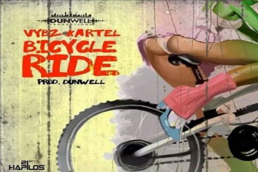 LISTEN TO VYBZ KARTEL – BYCICLE RIDE – DUNWELL PRODUCTIONS – SEPT 2015