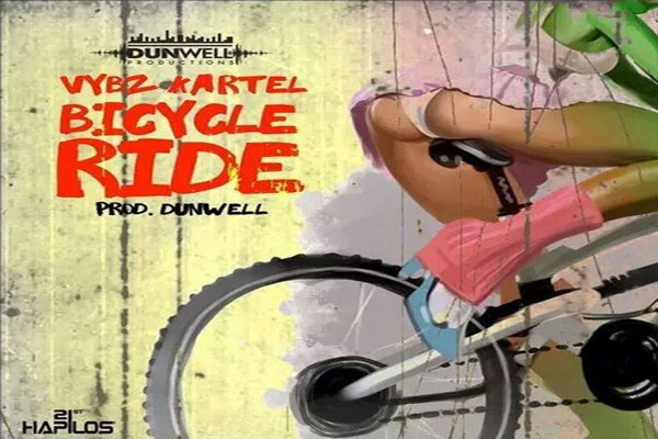 Listen To Vybz Kartel Bycicle Ride Dunwell Productions September 2015 Jamaican Dancehal