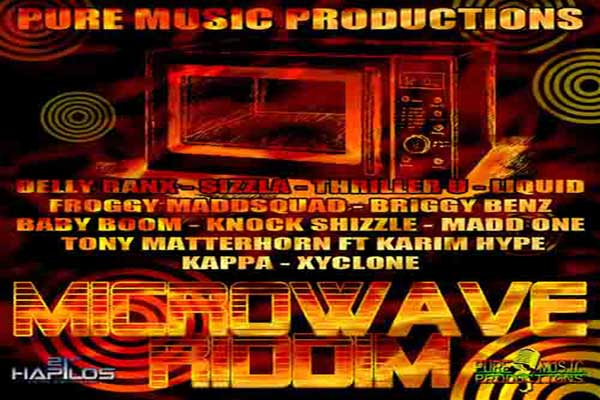 New Dancehall Music Microwave Riddim – Pure Music Production – Sept. 2012