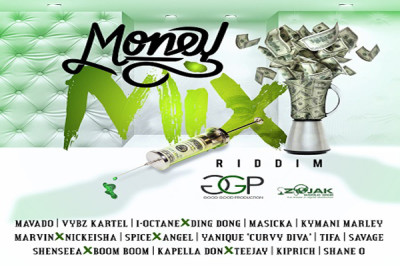 <strong>Dancehall Reggae Riddims 2017 &#8211; Money Mix Riddim &#8211; Good Good Productions</strong>