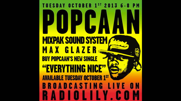 <strong>Popcaan&#8217;s Latest Interview On His Upcoming Album On Radio Lily &#8211; October 2013</strong>