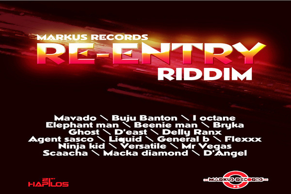 <strong>RE-ENTRY RIDDIM MARKUS RECORDS MAY 2013</strong>