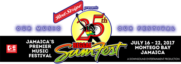 Jamaica reggae sumfest line up july 2017