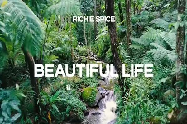 richie spice Kathryn Aria Beautiful Life reggae music video 2019