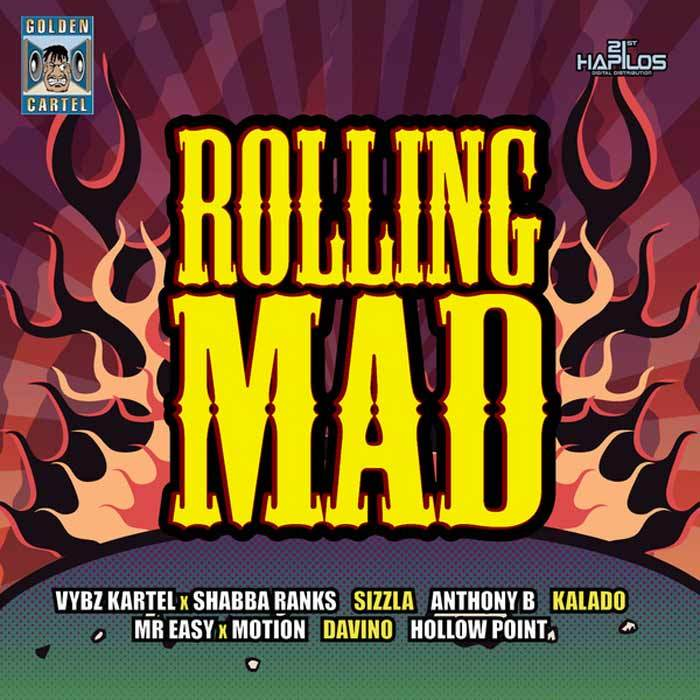 VYBZ KARTEL FEAT SHABBA RANKS BULLET PROOF NEW MUSIC ON ROLLING MAD RIDDIM – GOLDEN CARTEL